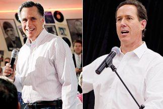 El aspirante a la nominación republicana Mitt Romney encabeza la lista d...