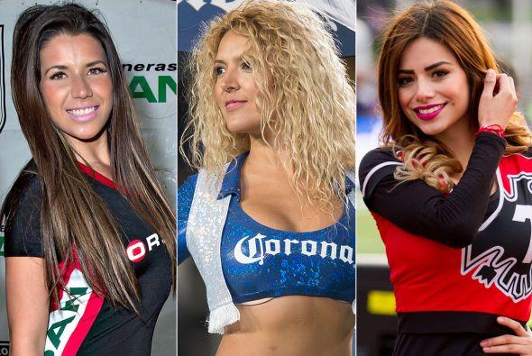 76 porristas del futbol mexicano 2 - 3 8