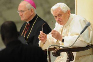 El Papa Benedicto XVI estará en México del 23 al 26 de marzo de 2012.