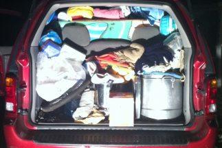 Pedro y su esposa cargaron todo en su vehículo y se fueron a Arizona (fo...
