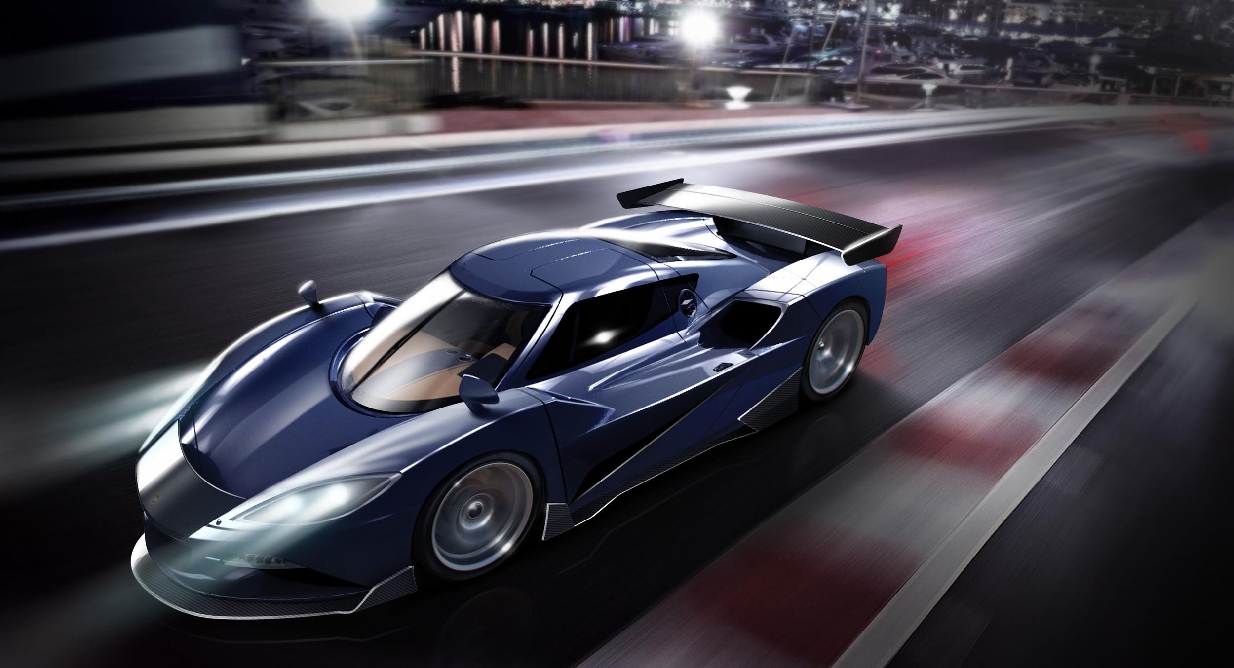 Arash AF10: el hybrido mas rapido con casi 2000cv