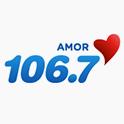 Logo chicago Amor 106.7 FM