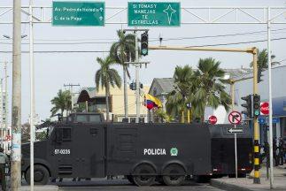 No faltaron las protestas durante la VI Cumbre de Cartagena en Colombia.