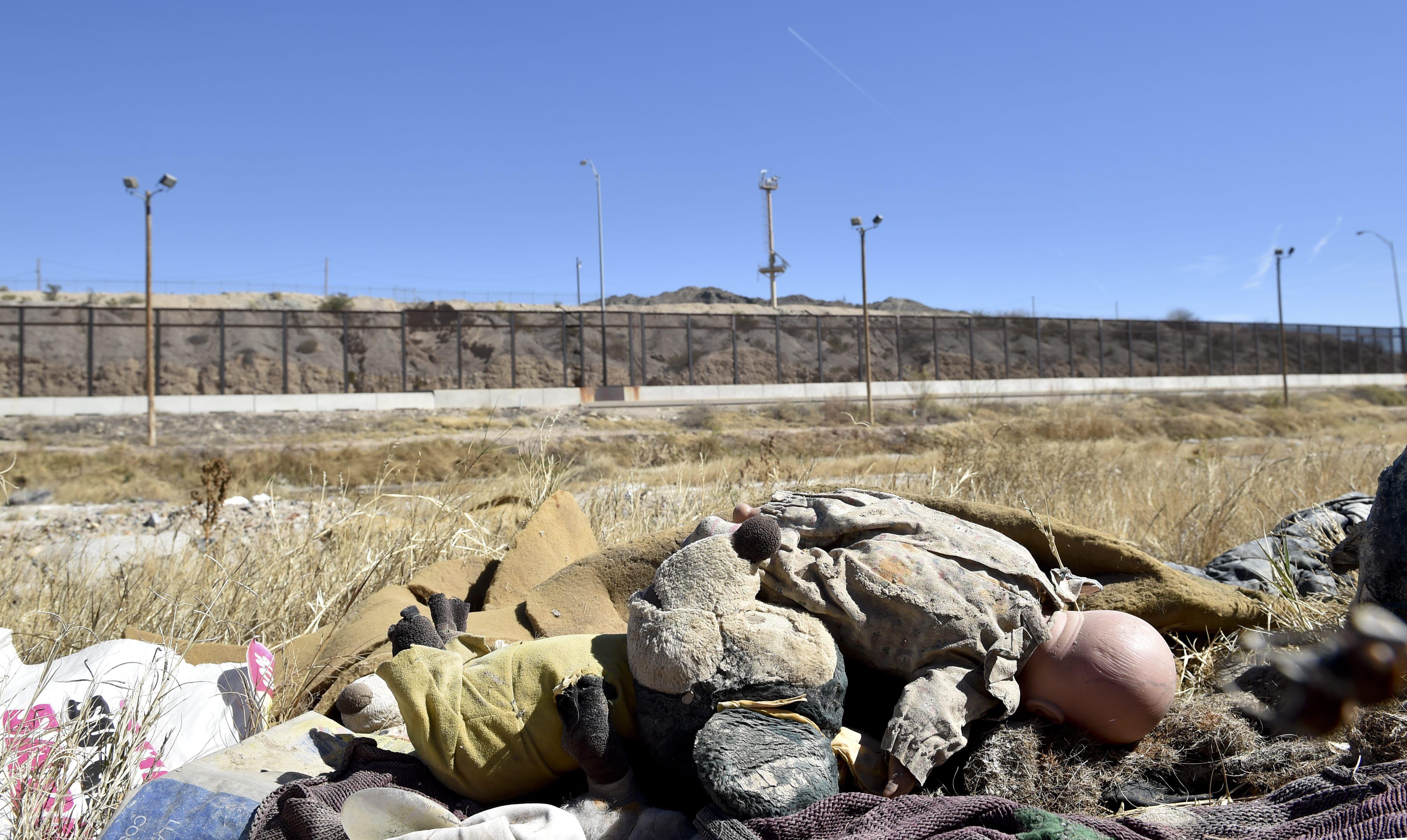 Frontera entre EEUU y Mexico