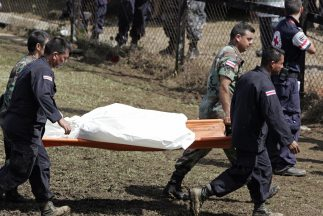 Las autoridades costarricenses hallaron dos cuerpos en avanzado estado d...