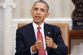 El presidente de EEUU,Barack Obama.