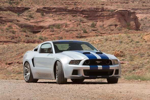 El Mustang GT utilizado en la película Need for Speed fue altamente modi...
