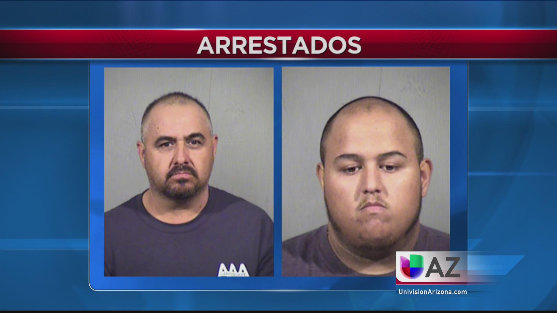 Arrestan a dos familiares de sospechoso descrito como armado y peligroso