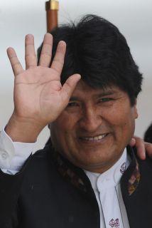 El presidente de Bolivia, Evo Morales, cumple este domingo seis años de...