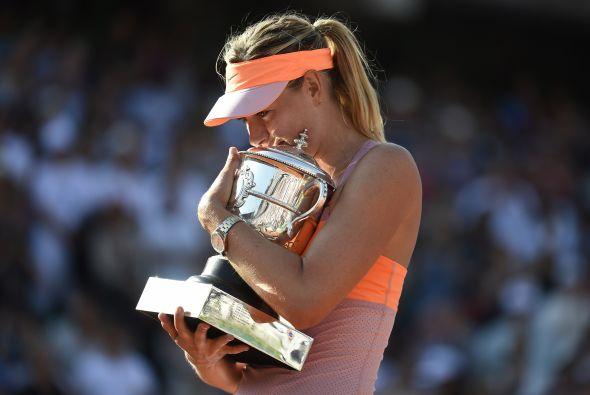 Maria Sharapova se consagró campeona del Roland Garros por segunda ocasi...