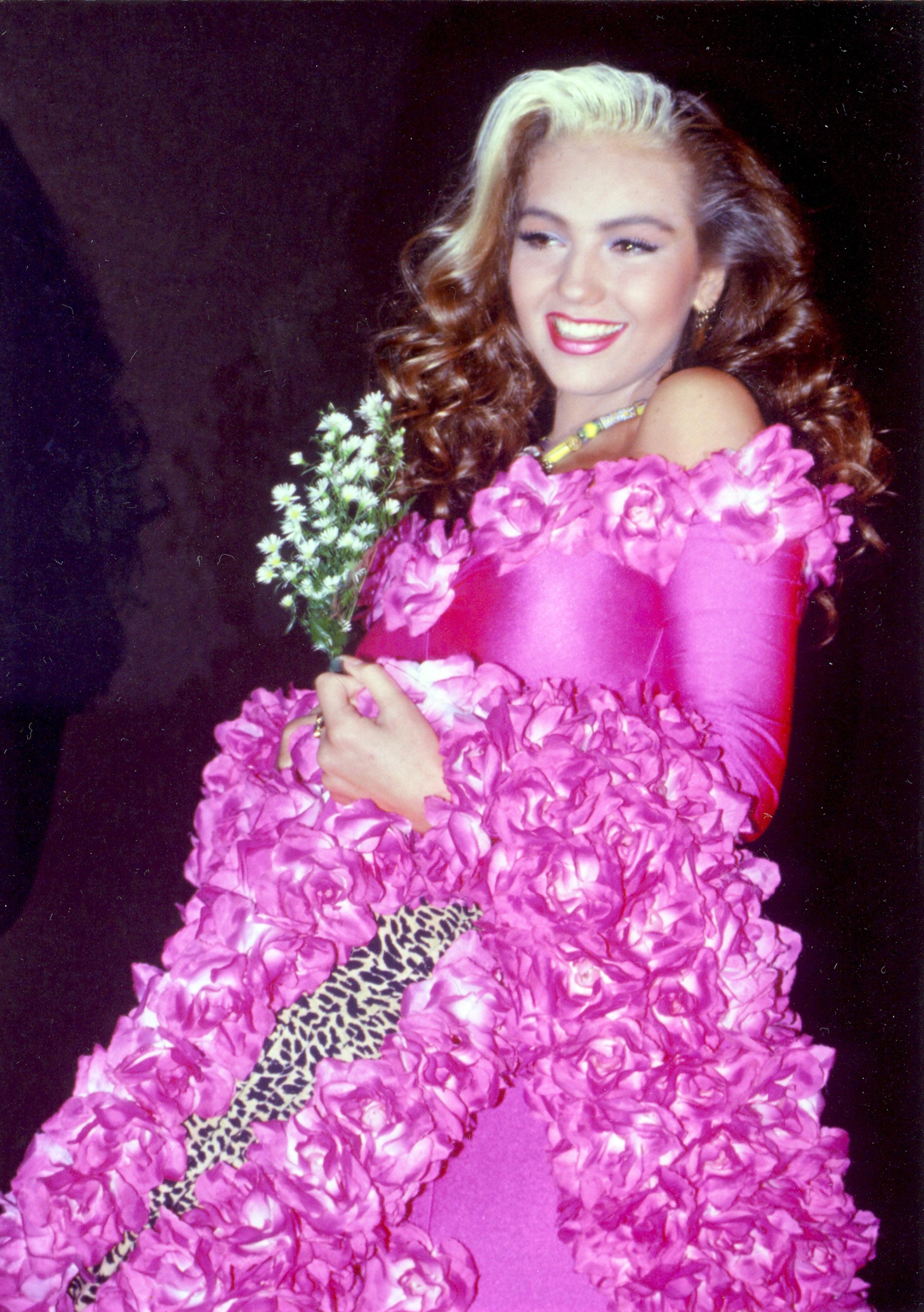 Único Vestidos De Fiesta 1990 Componente - Colección de Vestidos de ...