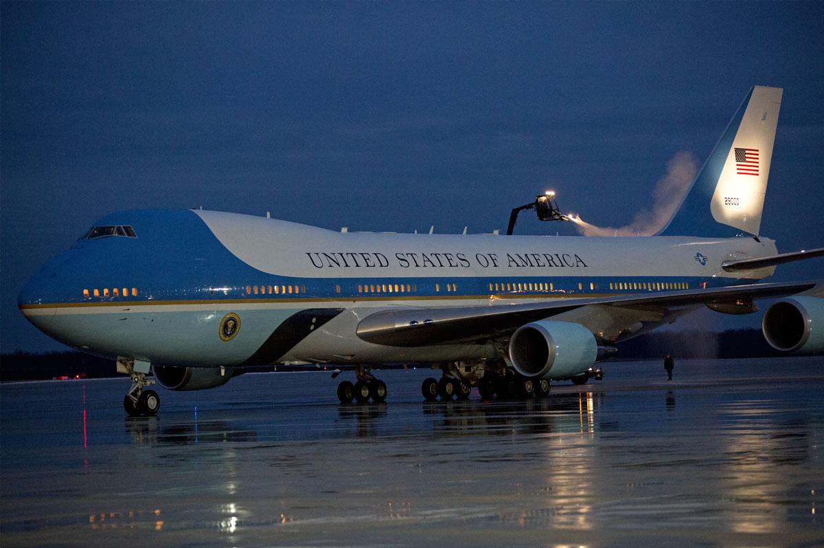 Trump quer cancelar encomenda do novo Air Force One, achou caro