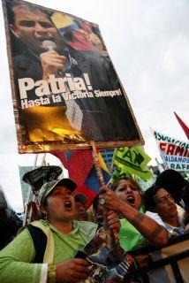 El presidente Rafael Correa alista a su partido para las elecciones del...