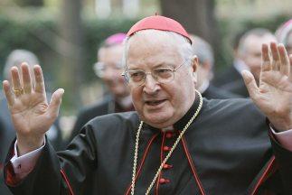 El cardenal Angelo Sodano, ex Secretario de Estado del Vaticano durante...