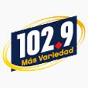 Logo San Diego 102.9 Más Variedad