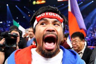 Manny Pacquiao podría pelear ante su gente en abril.