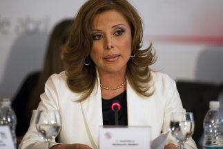 La abogada Marisela Morales fue la primera mujer en tomar el control de...
