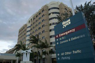 Un paciente llegó al centro médico Mount Sinai de Nueva York con fiebre...