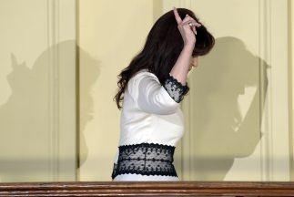 La presidenta de Argentina, Cristina Fernández.