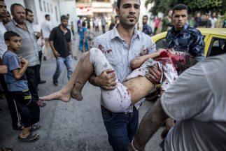 De los niños muertos por los ataques israelíes, 84 eran niños y 37 niñas.