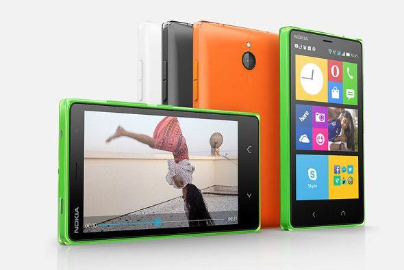 El nuevo X2 utiliza un sistema operativo Android que se paece al del Win...
