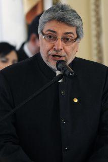El presidente de Paraguay, Fernando Lugo, además de enfrentar cáncer lin...