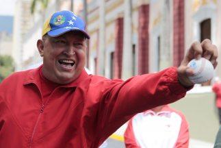 Hugo Chávez, mandatario venezolano.