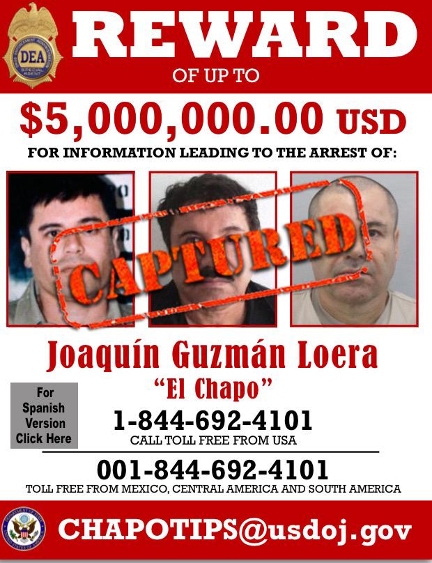 """Gobierno mexicano exhibe a """"El Chapo"""" tras su recaptura guzman_e-capture..."""