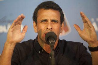 El líder opositor de Venezuela dijo que con la impugnación pretenden ago...