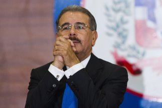 El economista Danilo Medina, de 60 años, tomó este jueves posesión del c...