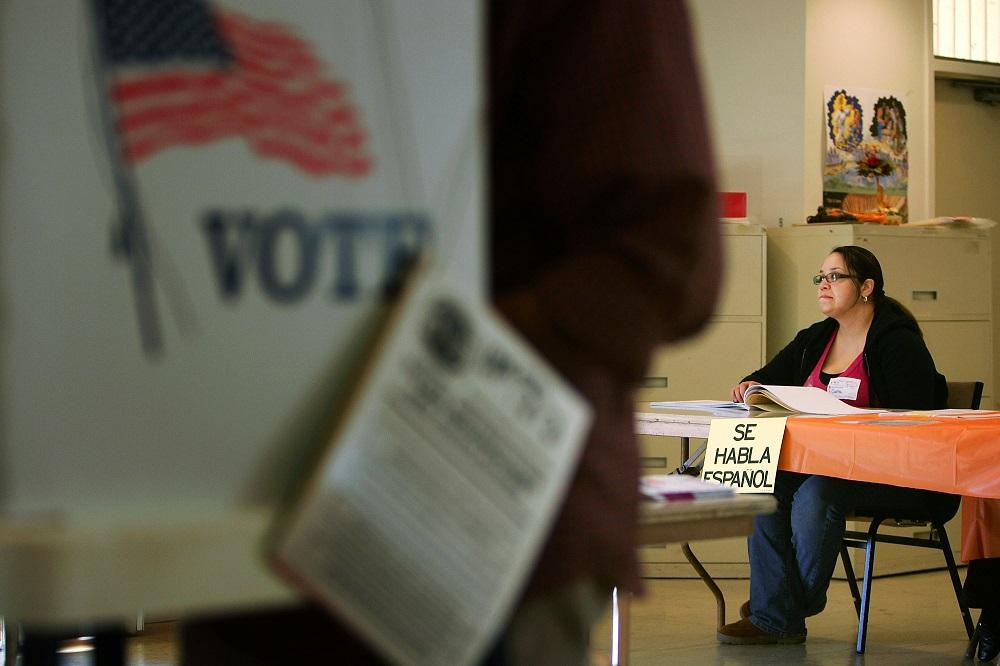 Históricamente los hispanos son los que menos votan.