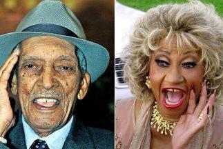 Compay Segundo y Celia Cruz.