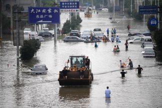 A comienzos de octubre, el tifón Fitow alcanzó Zhejiang, provocando la m...