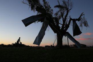 Un violento sistema climático que cobró 12 vidas en Oklahoma y Arkansas...