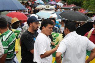 Miles de maestros protestaron en Honduras.