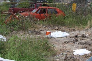 Las autoridades de Durango encontraron ocho cadáveres decapitados en el...