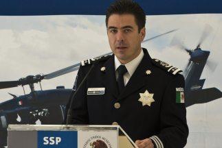El jefe de división de la policía federal mexicana, Luis Cárdenas Palomi...