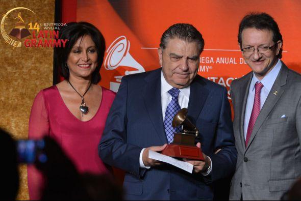 Mario Kreutzberger fue reconocido por la Academia Latina de la Música (L...