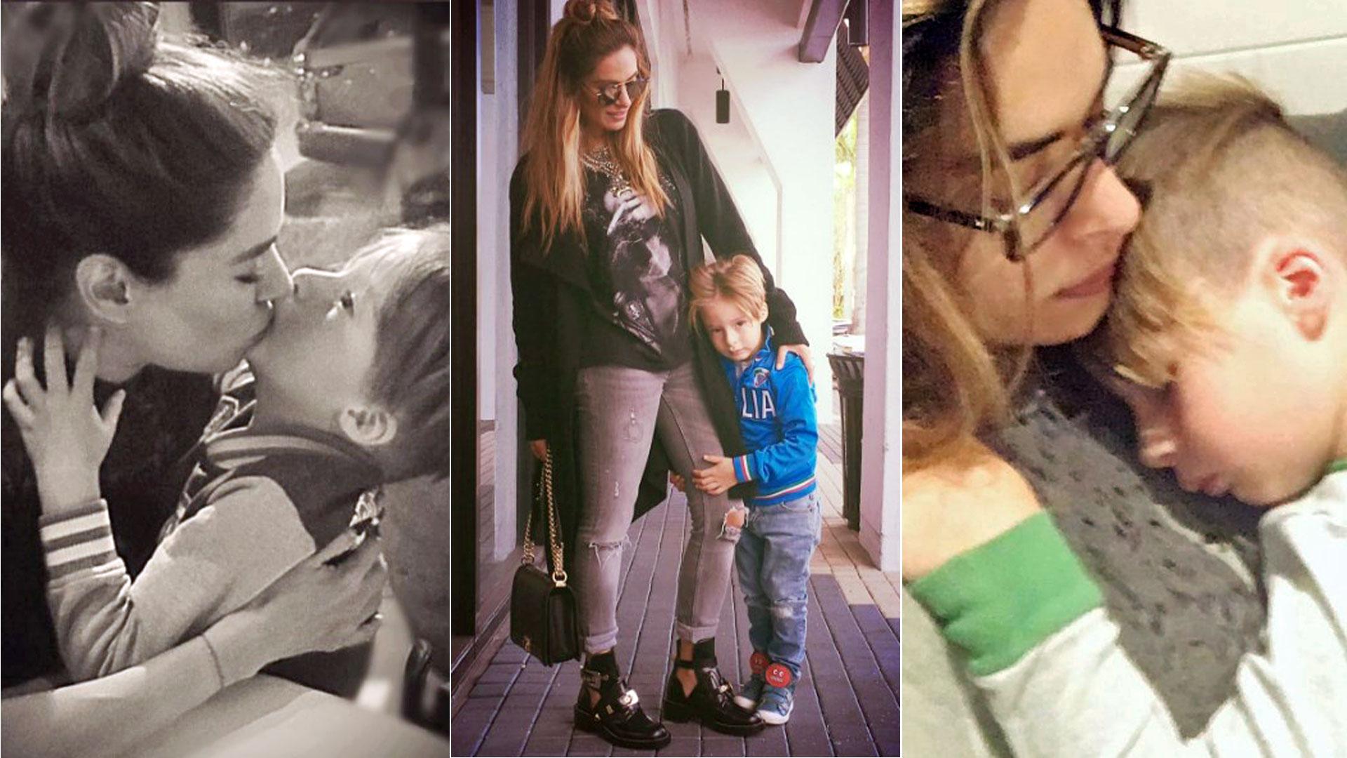 Galilea Montijo y su hijo Mateo te harán derretir de ternura con estas fotos , Univision