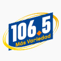 Logo Houston 106.5 Más Variedad