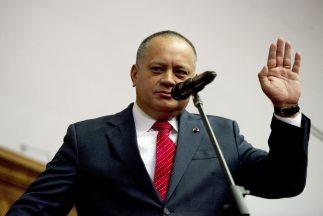 El presidente de la Asamblea Nacional de Venezuela, Diosdado Cabello.