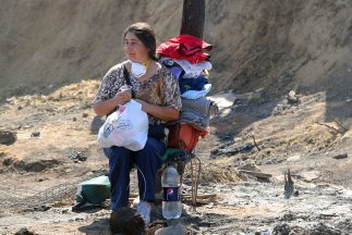El incendio en el puerto de Valparaíso, Chile, dejó más de 11 mil damnif...