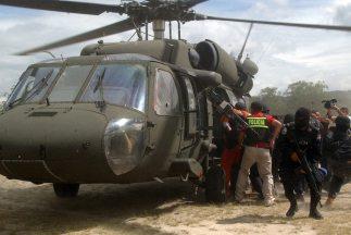 Las fuerzas de seguridad de Guatemala han decomisado 1,692 toneles con q...