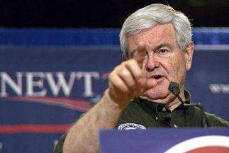 En el comienzo de las elecciones primarias republicanas Newt Gingrich di...