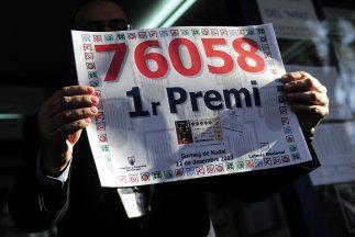 """El premio """"Gordo"""" de la lotería española de Navidad le cambió la vida a..."""