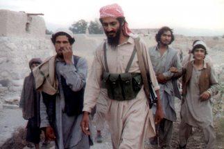 Osama Bin Laden en una fotografía cuando era joven.