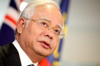 Najib Tun Razak expresó su consternación por el siniestro del avión de M...