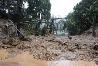 Esta región montañosa es castigada por intensos aguaceros cada verano y...