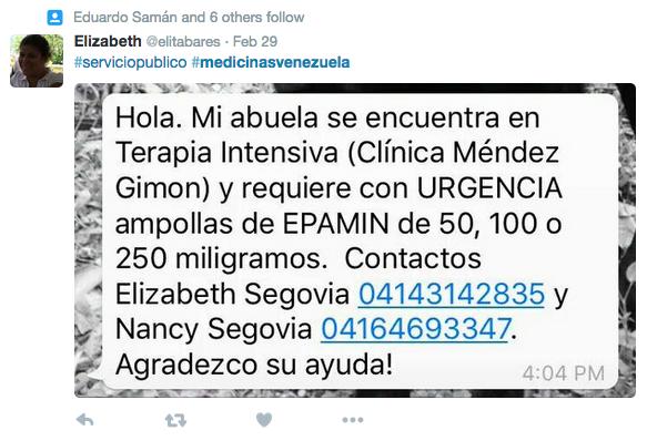 Las redes sociales se convierten en la farmacia de los venezolanos Captu...