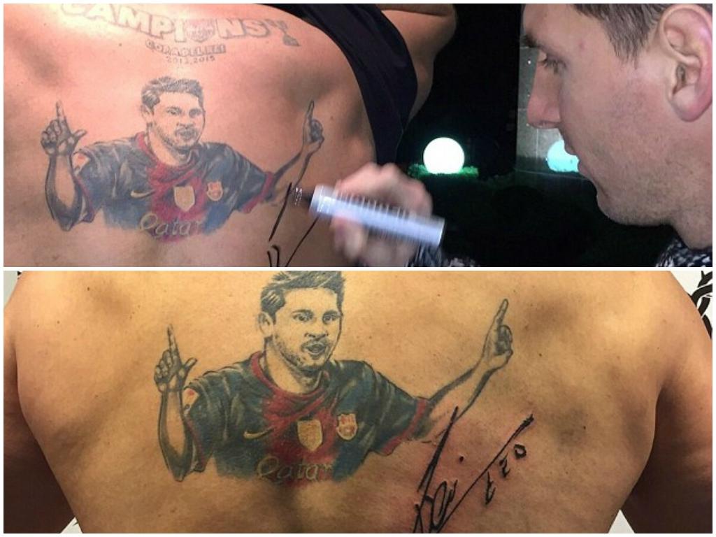 tatuajes Español aficionado